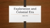Exploration and Colonization PPT.
