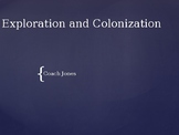 Exploration and Colonization Powerpoint
