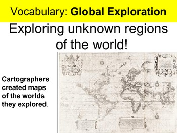 Exploration and Colonization Presentation