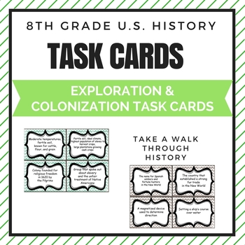 Exploration and Colonization Task Cards