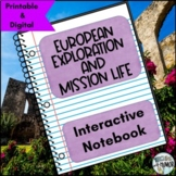 Exploration and Mission Life (in Texas) INTERACTIVE NOTEBO
