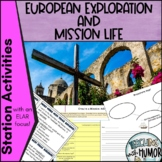 Exploration and Mission Life (in Texas)  Literacy Integrated Activities