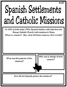 Exploration and Mission Life of Texas
