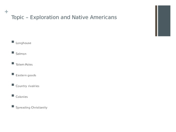 Exploration and Native American Review Games