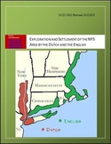 Exploration and Settlement of the NYS Area by the Dutch an