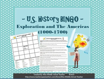 Exploration and the Americas BINGO (1000-1700)