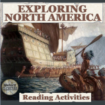 Exploration in North America Reading Activities