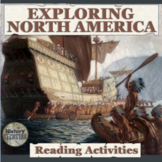 Exploration of North America Reading Activities