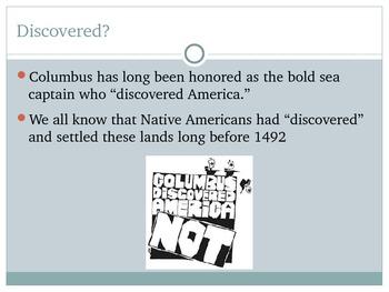 Exploration of America