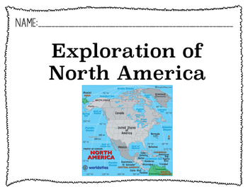 Exploration of North America Powerpoint
