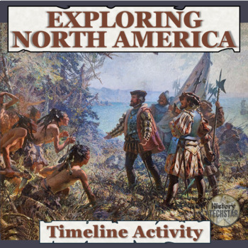 Exploration of North America Timeline for Interactive Notebook