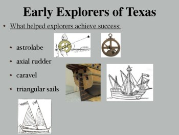 Exploration of Texas Power Point and Activities