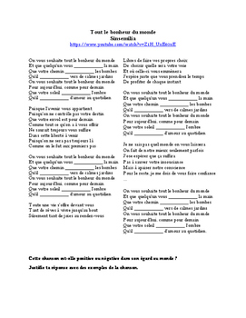 Exploration of the subjunctive via Sinesemilia's hit pop song