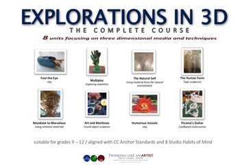 Explorations in 3D - the complete course