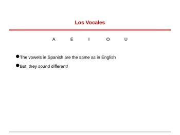 Exploratory Español - Powerpoint