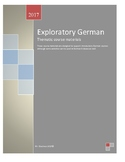 German Course Materials for Exploratory Classes