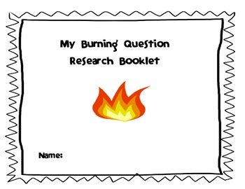 Non-Fiction Exploratory Research Booklet