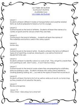Exploratory Spanish Curriculum Guide - Grades K-8