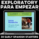 Exploratory Spanish Para Empezar for 6 weeks of Novice Spa