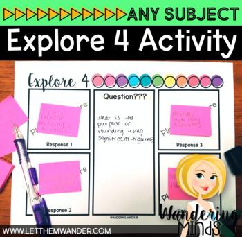 Explore 4 Collaborative Activity