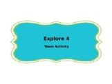 Explore 4 Strategy Template - Accountable Talk Activity