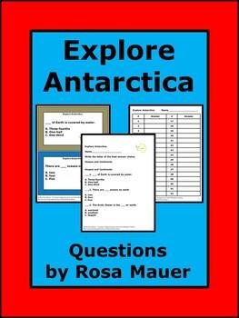 Explore Antarctica Comprehension  Questions