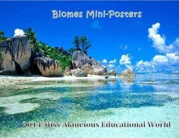 Explore Biomes Around the World: Mini-Posters for Your Classroom!