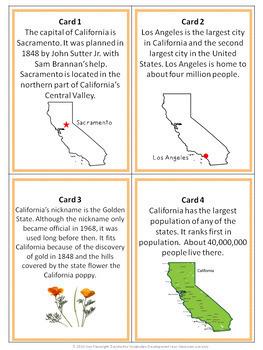 California Activity Bundle