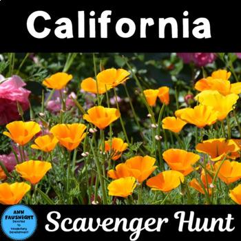 Explore California Scavenger Hunt