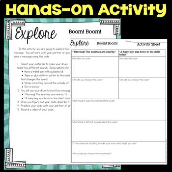 Explore Drum Code Messages - Communication through Codes & Technology