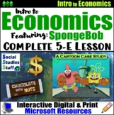 Explore Economy- Supply and Demand featuring SpongeBob