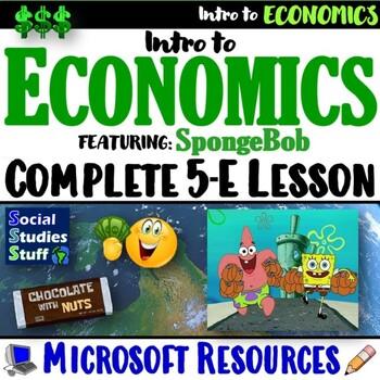 Explore Economy- Supply and Demand featuring SpongeBob