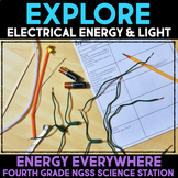 Explore Electrical Energy & Light - Energy Science Station