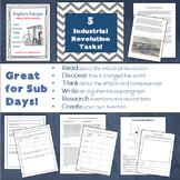Explore Europe! Industrial Revolution Lesson and Task Pack