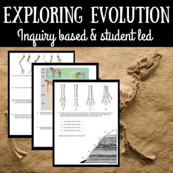 Explore Evolution - Inquiry Based Assignment