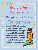 Explore Fort Sumter with a Google Maps Street View