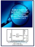 Explore Greek & Latin Roots Through Word Windows Lesson Pl