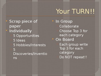 Explore Ideas & Opportunities - Entrepreneurship Ch. 1.3 - 1.4