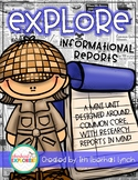 Explore Informational Reports: A Common Core aligned Research Pack!