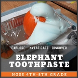 Elephant Toothpaste Lab:  Experiment with Exothermic Chemical Reactions