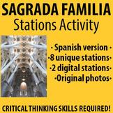 Spanish - Explore La Sagrada Familia Stations Activity! - SPANISH version