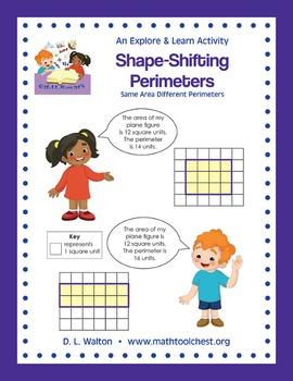 3rd Grade Measurement: Shape-Shifting Perimeters