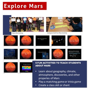 Explore Mars: Games & Activities