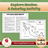 Explore Mexico: A Country Coloring Activity