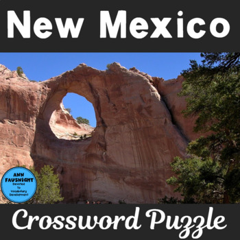 New Mexico Crossword Puzzle