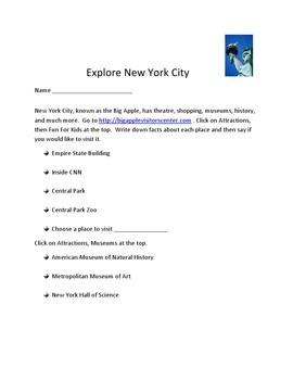 Explore New York City using Ipads