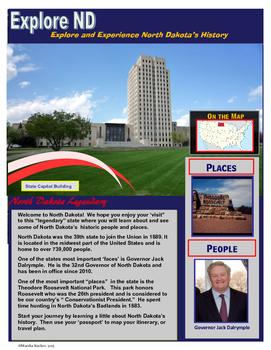 North Dakota State History Bundle
