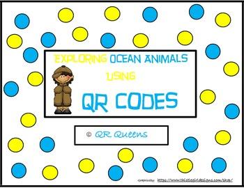 Ocean Animals (Animal Habitats) with QR codes