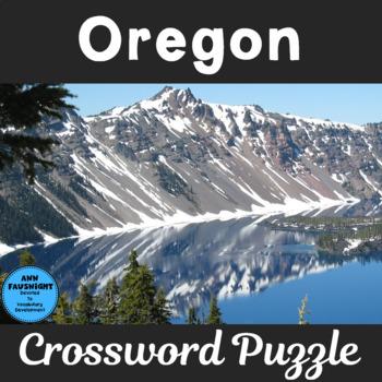 Oregon Crossword Puzzle