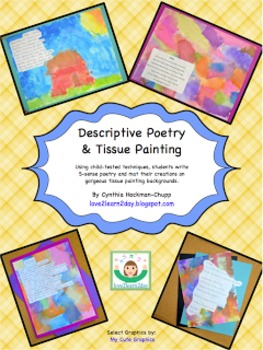 Explore Oregon Regions and Descriptive Poetry and Tissue Painting (Bundle)
